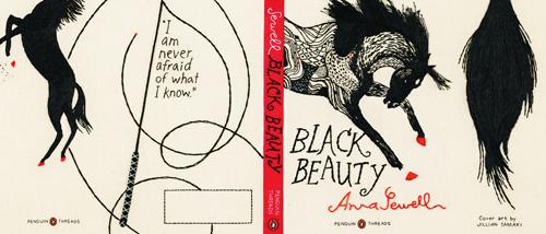 Black Beauty Penguin Threads