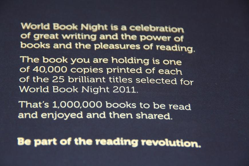 World Book Night blurb